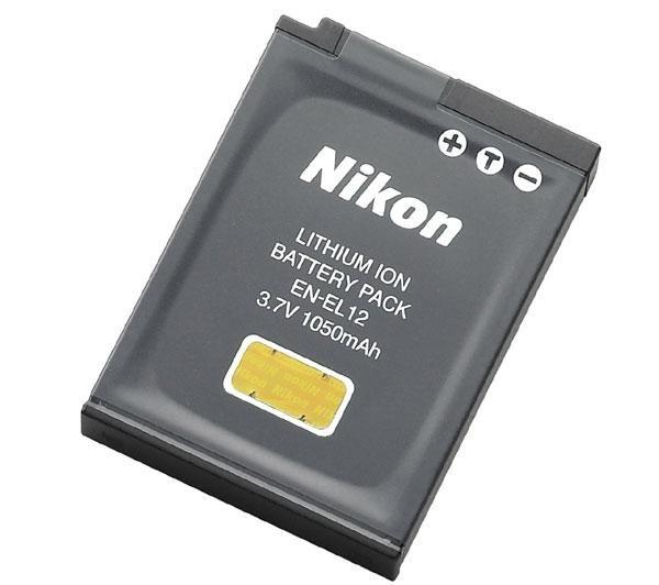 NIKON EN-EL12 baterie pro P300/P310/AW100/S1100pj/S1200pj/S9300-S6150/S800c