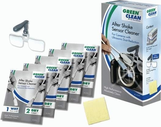 GREEN CLEAN after shake sensor SC5200