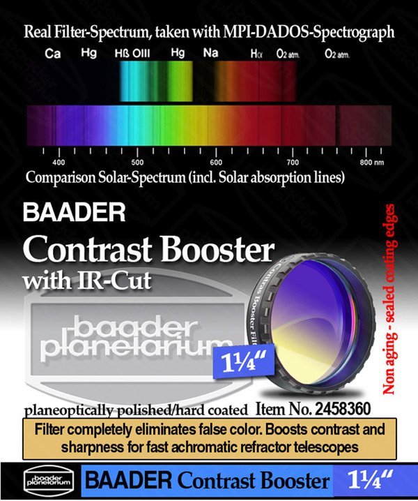 BAADER CONTRAST BOOSTER 1,25