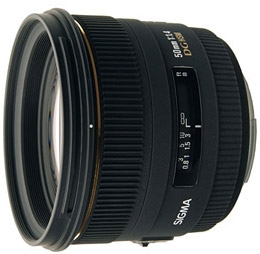 SIGMA 50 mm f/1,4 EX DG HSM pro Nikon