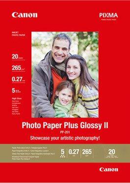 CANON inkjet 265g Glossy 13x18/20 PP-201