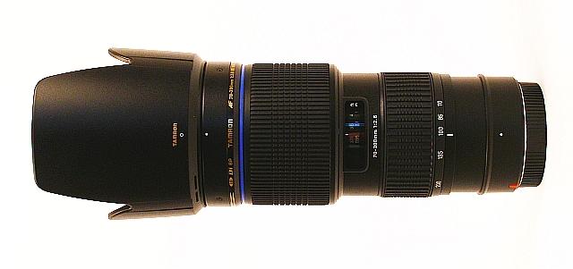 TAMRON 70-200 mm f/2,8 SP Di LD Macro pro Sony A