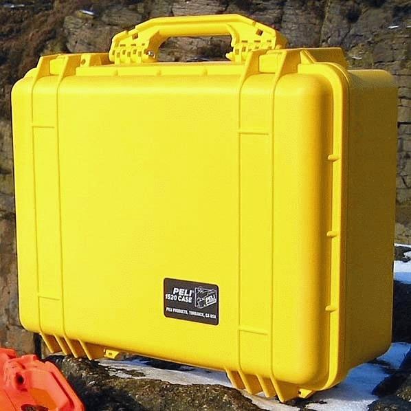 PELI CASE 1520 - vodotěsný kufr s přepážkami
