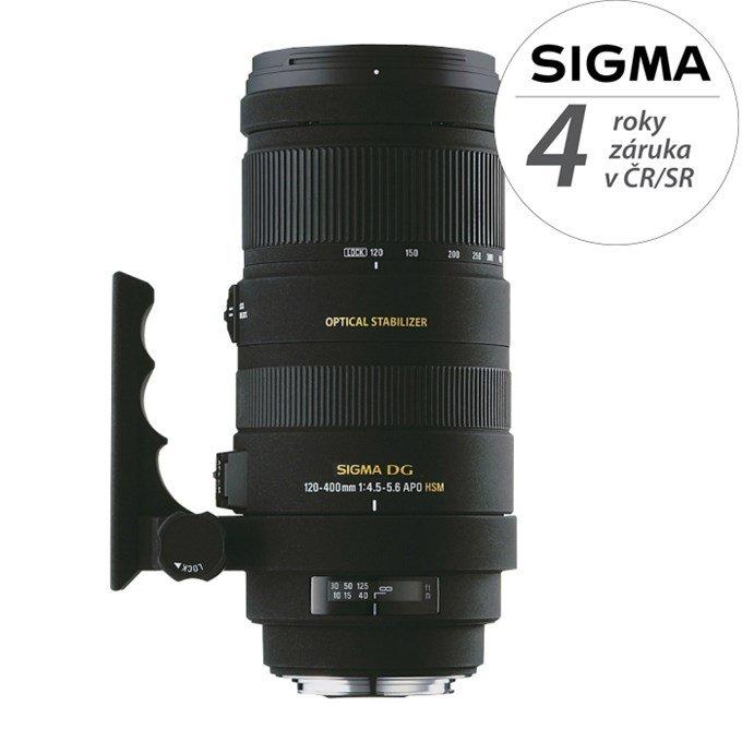 SIGMA 120-400 mm f/4,5-5,6 APO DG HSM pro Sony A