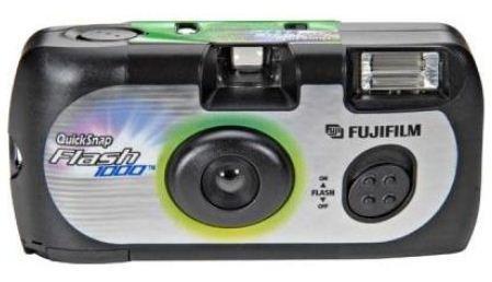 FUJI QuickSnap Fashion jednorázový fotoaparát s bleskem 400/27