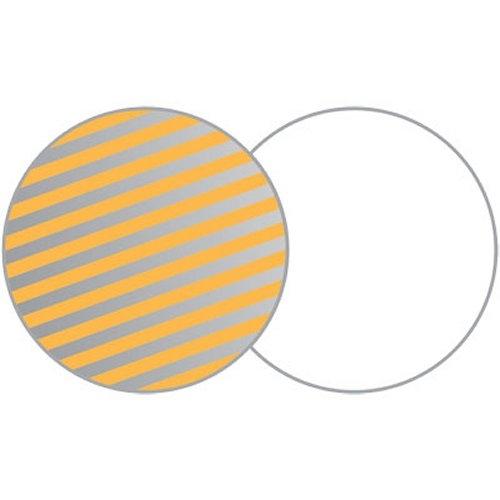 LASTOLITE 1206 odrazná deska 30 cm sluneční oheň/bílá