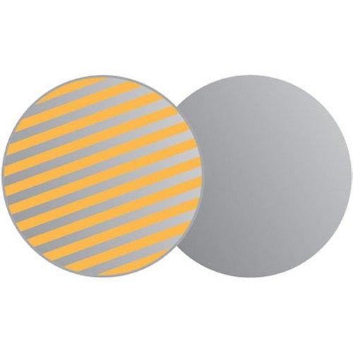 LASTOLITE 1236 odrazná deska 30 cm sluneční oheň/stříbrná