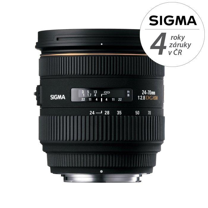 SIGMA 24-70 mm f/2,8 EX DG IF HSM pro Canon