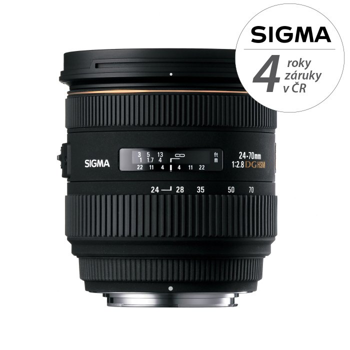 SIGMA 24-70 mm f/2,8 EX DG IF HSM pro Sony A