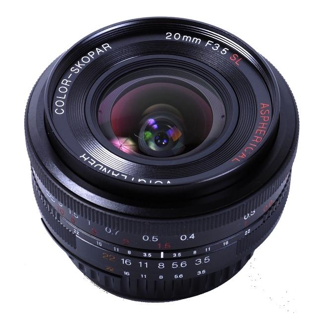 VOIGTLÄNDER 20 mm f/3,5 MF Color Skopar SL II Asph. pro Nikon AI-S