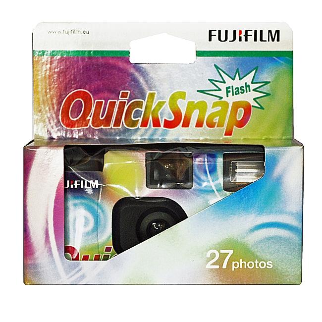 FUJI QuickSnap jednorázový fotoaparát s bleskem ISO 400/27 snímků