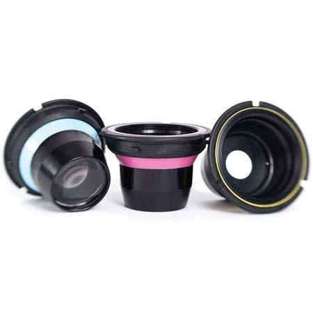 LENSBABY Optic box set - plastic optic+pinhole+single glass optic