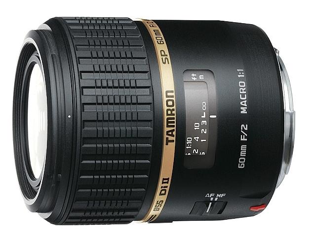 TAMRON 60 mm f/2.0 SP Di II LD Macro pro Canon