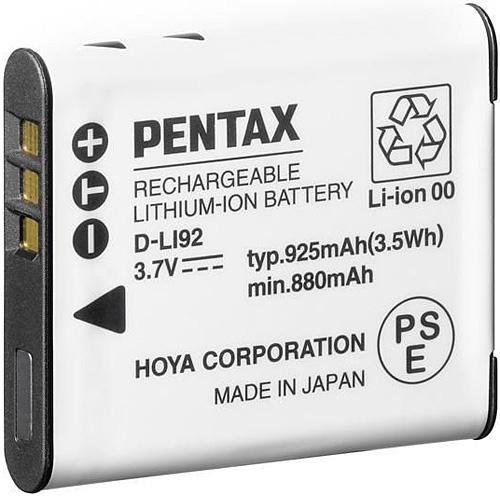 PENTAX D-Li92 akumulátor pro X70, WG-1/2/3/4/5