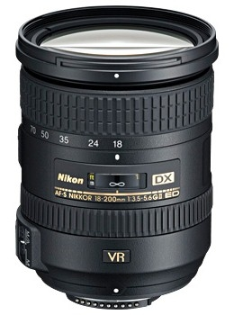 NIKON 18-200/3,5-5,6 G AF-S DX VR II