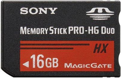 SONY MemoryStick PRO DUO 16GB MS-HX16