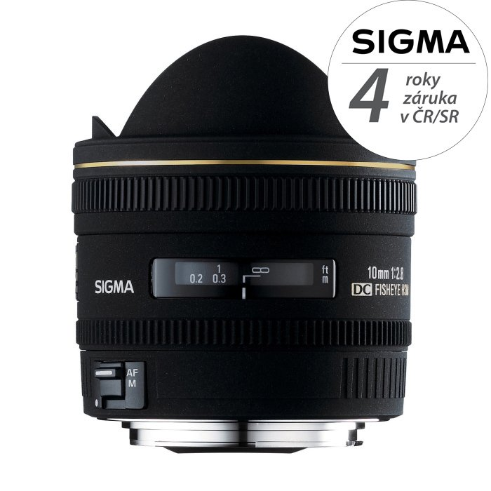 SIGMA 10 mm f/2,8 EX DC HSM Fisheye pro Sony A