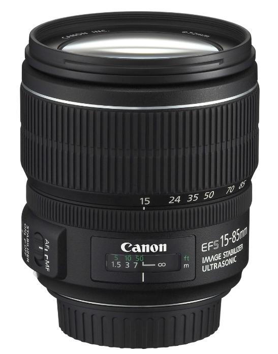 CANON EF-S 15-85 mm f/3,5-5,6 IS USM + Cashback 1600 Kč