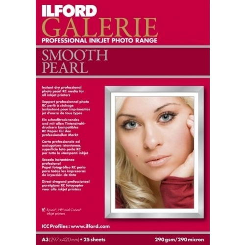 ILFORD inkjet 290g Smooth Pearl Paper A4/100ks