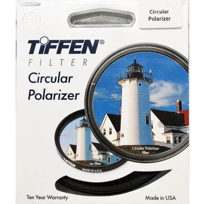 TIFFEN filtr polarizační cirkulární 62 mm