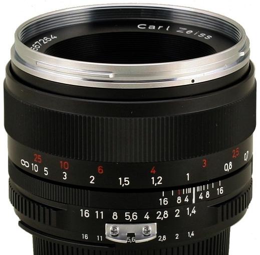 ZEISS Classic 50 mm f/1,4 Planar T* ZF.2 pro Nikon
