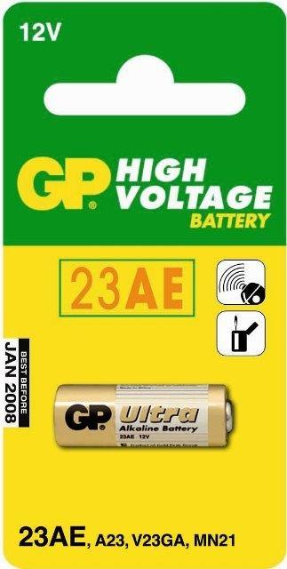 GP 23AE 12V - baterie