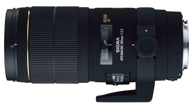 SIGMA 180 mm f/3,5 EX APO DG IF HSM Macro pro Sony A
