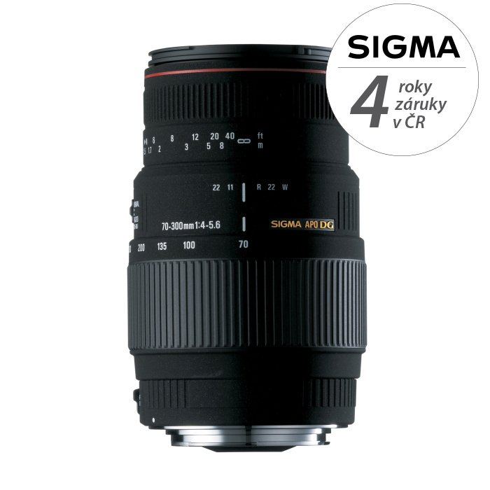 SIGMA 70-300 mm f/4-5,6 APO DG pro Nikon