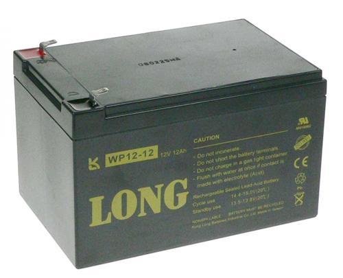 AVACOM Long 12V/2,1Ah olověný akumulátor pro prof. videokamery