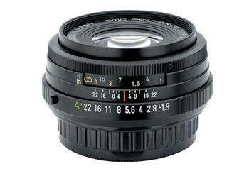 PENTAX 43 mm f/1,9 FA Limited černý