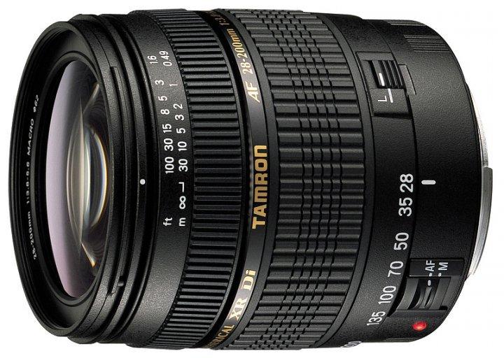 TAMRON 28-200 mm f/3,8-5,6 XR Di LD Asph. pro Pentax