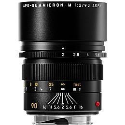 LEICA M 90 mm f/2,0 Asph. APO-Summicron-M černý elox