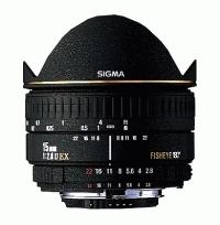 SIGMA 15 mm f/2,8 EX DG Fisheye pro Pentax