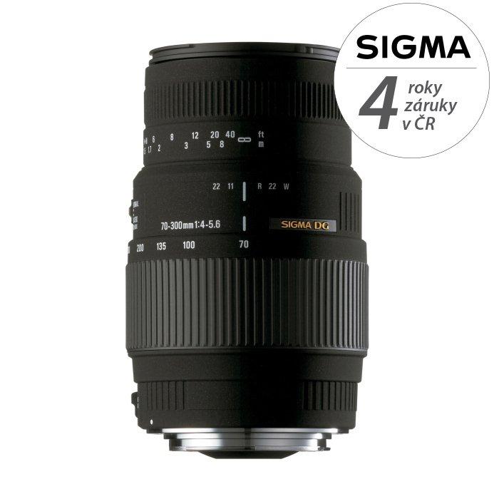SIGMA 70-300 mm f/4-5,6 DG pro Pentax
