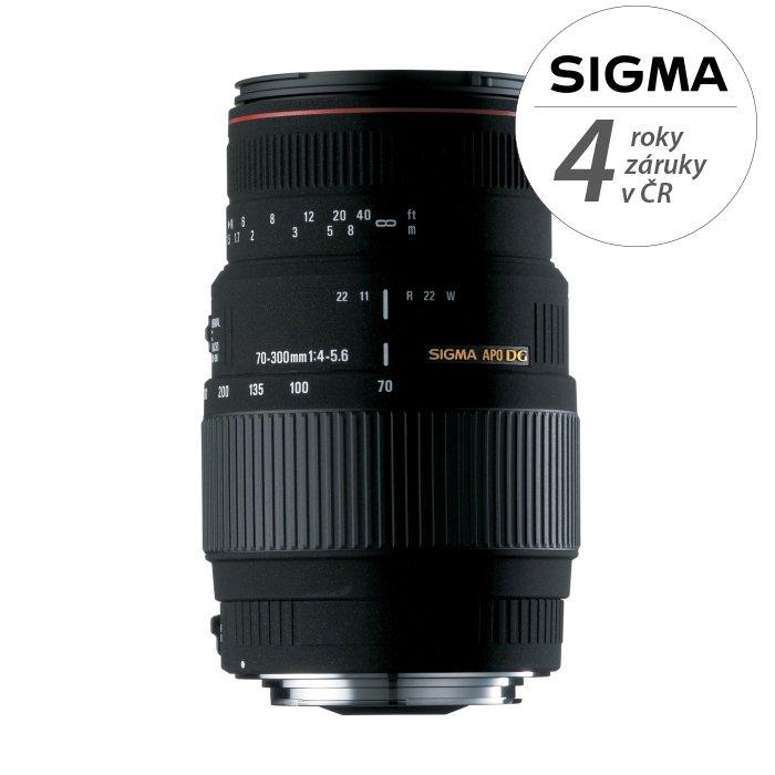 SIGMA 70-300 mm f/4-5,6 APO DG pro Canon
