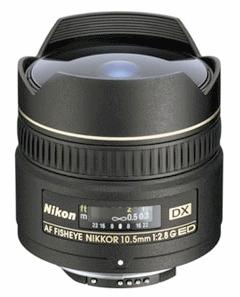 NIKON 10,5 mm f/2,8 G ED AF DX Fisheye