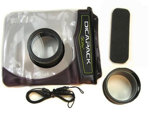 DiCaPac obal pod vodu pro kompakty WP-610