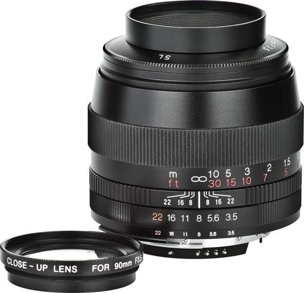 VOIGTLÄNDER 90 mm f/3,5 APO-Lanthar SL II pro Canon