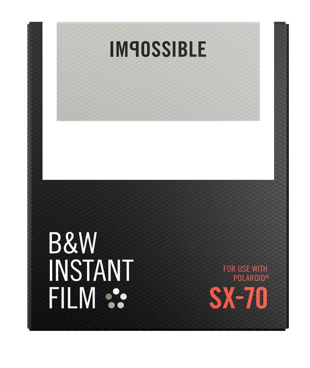 IMPOSSIBLE černobílý film pro Polaroid SX-70/8 ks