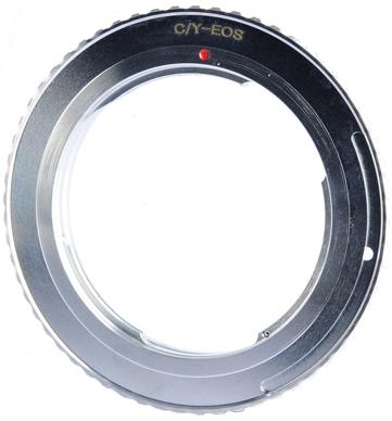 B.I.G. adaptér objektivu Yashica/Contax na tělo Canon EF