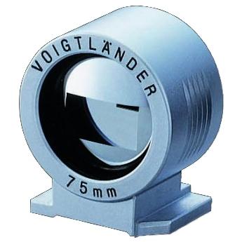 VOIGTLÄNDER hledáček 75 mm stříbrný
