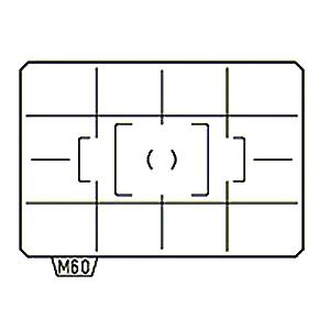 PENTAX Matnice ML-60 s mřížkou, pro K-7/5/3/S2 a KP