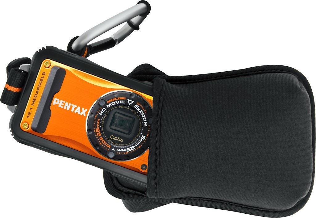 PENTAX pouzdro neoprénové pro Optio W90, WG-1/2/3/4/5/20/30 - černé
