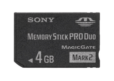 SONY MemoryStick PRO DUO 4GB MSM-T4GN