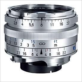 ZEISS C Biogon T* 35 mm f/2,8 ZM stříbrný