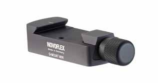 NOVOFLEX QMOUNT Mini - upínací adaptér