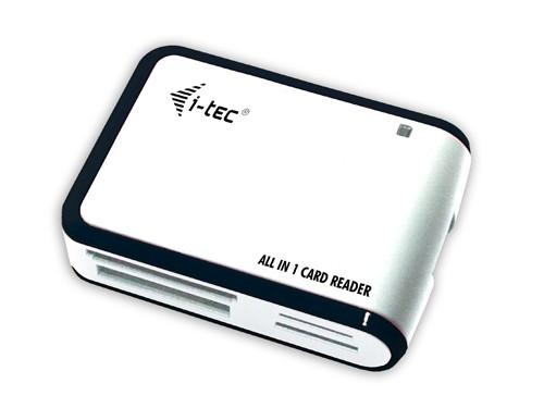 ITEC USB 2.0 ALL in ONE reader/writer bílá