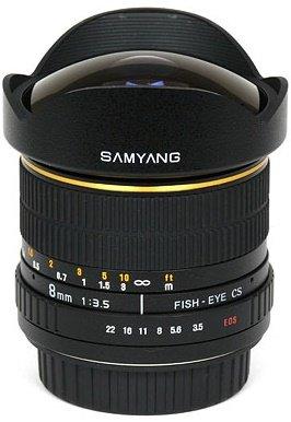 SAMYANG 8 mm f/3,5 MC Fish-eye CS pro Canon EF (APS-C)