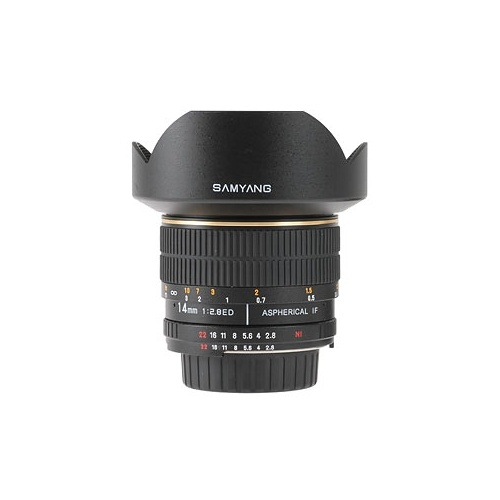 SAMYANG 14 mm f/2,8 ED AS IF UMC pro Sony A
