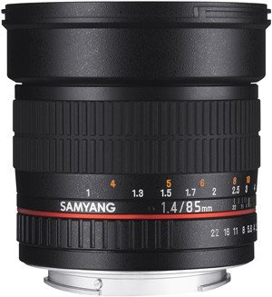 SAMYANG 85 mm f/1,4 AS IF MC pro Canon